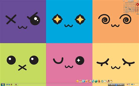 kawaii emoticons wallpaper desktop backgrounds cute wallpaper cave