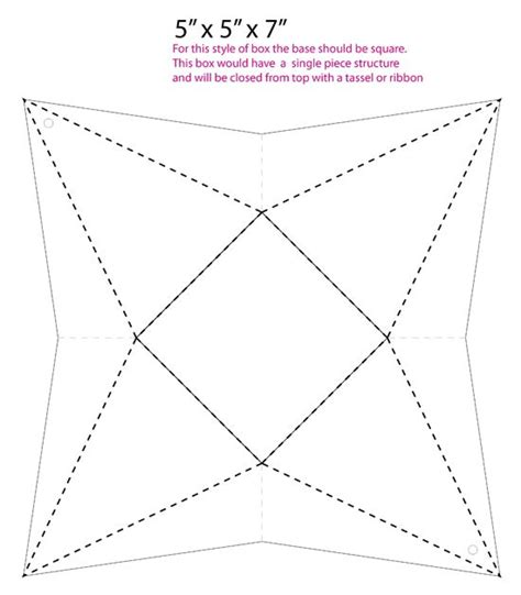 templates for triangle boxes 211 best images about gifts on pinterest free printable