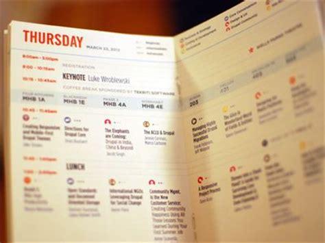 name tag design challenge 19 best conference schedule design images on pinterest