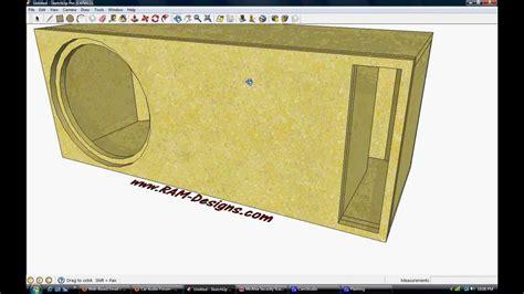 ram designs ram designs re audio 15 quot ported box design
