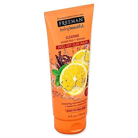 Freeman Masker Mask All Variant freeman 174 6 fl oz sweet tea lemon clearing peel clay mask bed bath beyond
