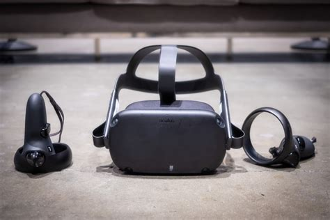 oculus quest impressions   hassle wireless vr headset    breakout hit pcworld