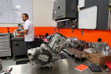 Ktm Shop Inside Look Wp Ktm Factory Services Motocross Feature