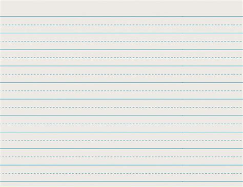 lined writing paper for 2nd grade 6 best images of second grade printable lined paper 2nd