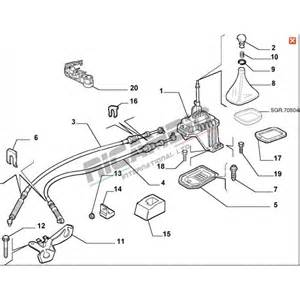 Fiat Bravo Gearbox Problems Gear Selector Linkage Cable Fiat Punto Mk2