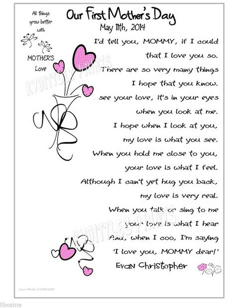 baby s s day poem baby 1st s day gift my for poem