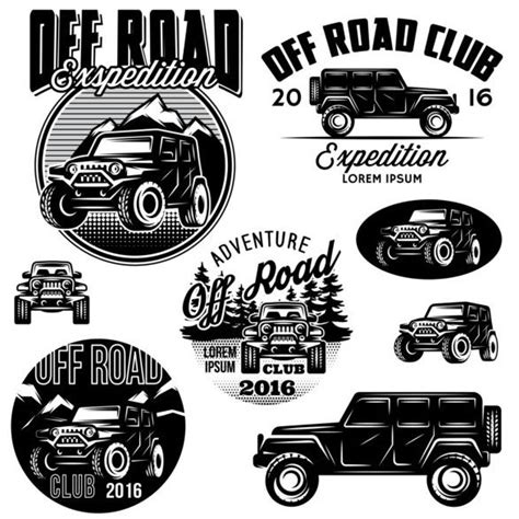 logo jeep vector road logos creative vector vector car free