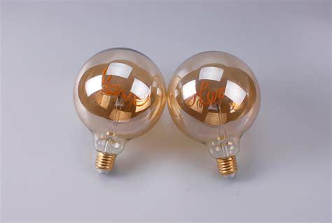 design love home dream letter led filament bulb