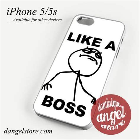 Iphone 5c Meme - like a boss meme phone case for iphone 4 4s 5 5c 5s 6 6