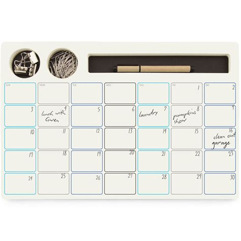 calendar supplies monthly calendar supply caddy in calendars and planners