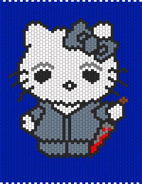 beaded hello pattern michael myers hello bead pattern peyote bead