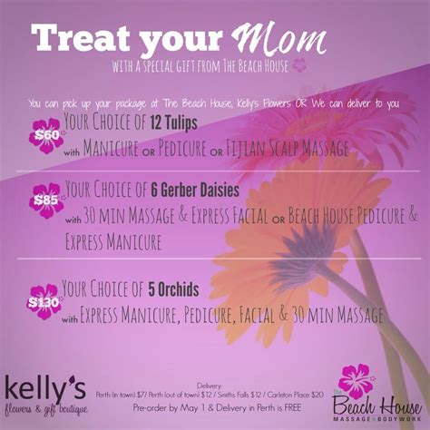 treat your mom to something special this mother s day home with heartland treat your mom this mother s day kelly s flowers gift