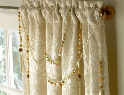 jewelry curtains jewelry for curtains do it yourself decorating pinterest