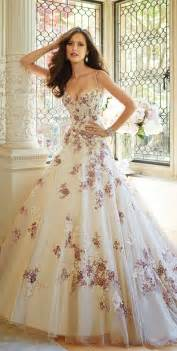 flowery wedding dresses tolli fall 2014 bridal collection the magazine