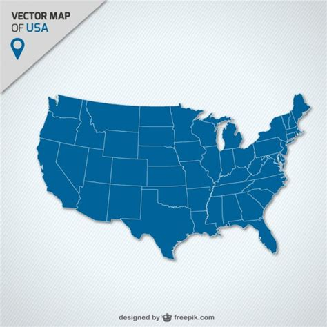 usa map vectors   psd files