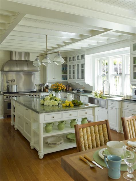 cottage kitchen island kitchen island shelves cottage kitchen cullman kravis