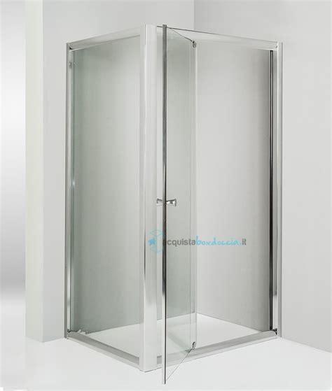 piatto doccia angolare 65x65 box doccia angolare anta fissa porta battente 65x65 cm