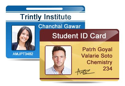 student id card template png student id cards maker software design id cards for