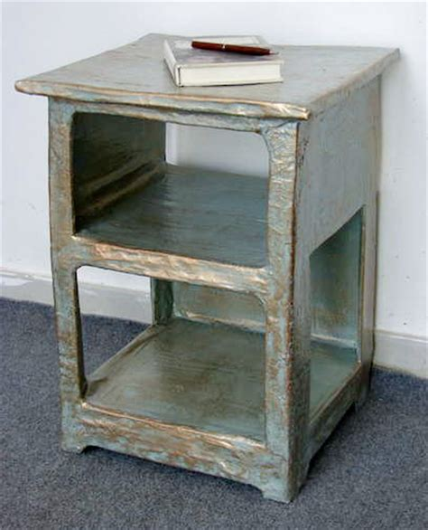 How To Make Paper Mache Furniture - jessifli01 make your own papier mache nightstand
