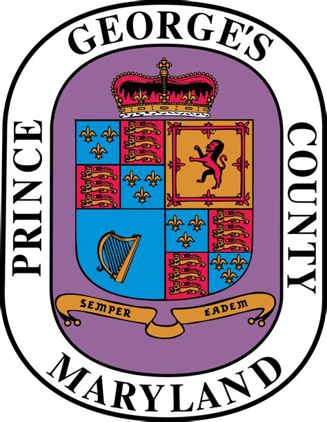 Prince George County Maryland Search File Seal Of Prince George S County Maryland Svg The Free Encyclopedia
