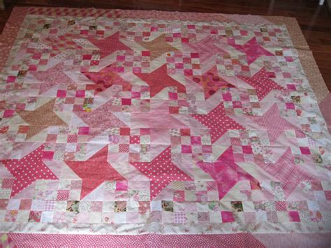 quilt pattern milky way shirley anne s heart 187 finished my pink milky way quilt top