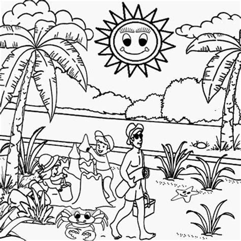 hard beach coloring pages fun but hard coloring pages colorings net