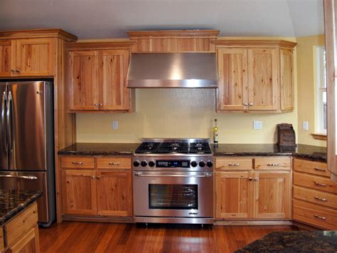 custom hickory cabinets for the home