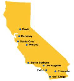 california college map colleges and universities map of colleges and