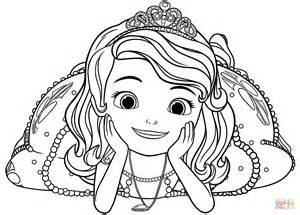 sofia coloring pages princess sofia coloring page free printable coloring pages