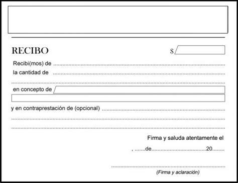 formato de recibo de dinero recibido c 243 mo hacer un recibo de dinero ejemplos uncomo