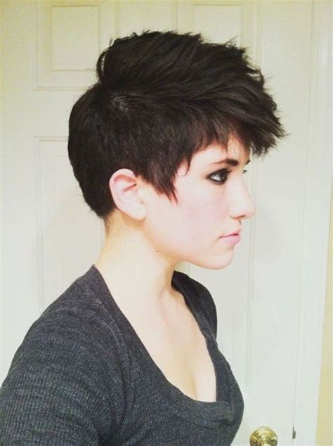 haircut to a beautiful brunette pixie youtube 217 best images about brunette pixie cuts on pinterest