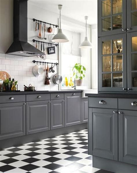 black and gray kitchen cabinets best 25 white tile kitchen ideas on small