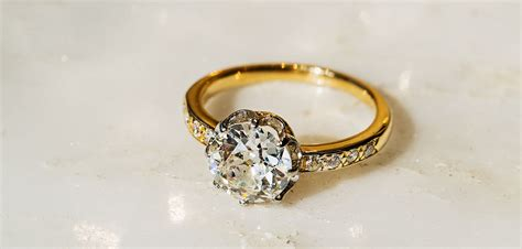 vintage and antique engagement rings from t h