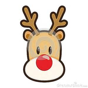 red nosed reindeer stock image image 35469281