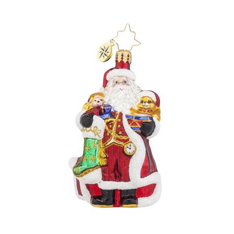 a christmas classic gem ornament by christopher radko