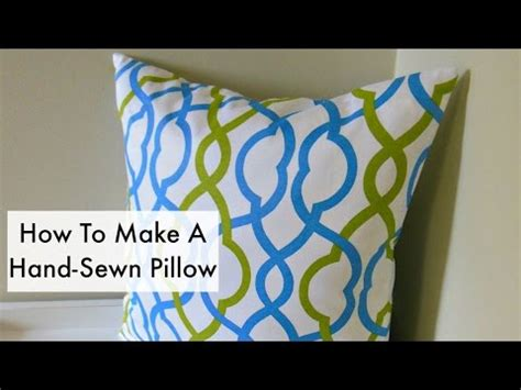 How To Stitch A Pillow Closed by 18 How To Sew A Pillow Funnydog Tv