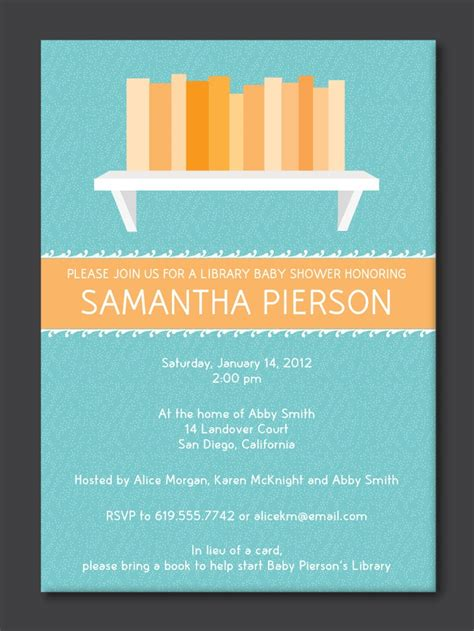 baby shower invitation wording book theme 36 best images about baby shower on vintage