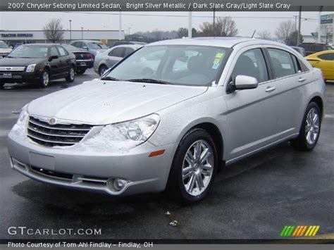 2007 Chrysler Sebring Limited by Bright Silver Metallic 2007 Chrysler Sebring Limited