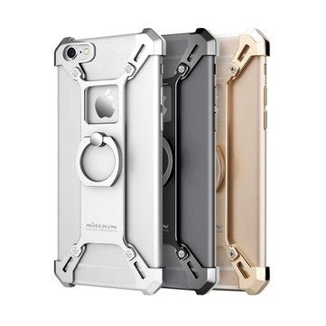 Nillkin Metal Bumper Iphone 6s Grey nillkin barde metal ring bracket holder shockproof back cover bumper for iphone 6plus 6s