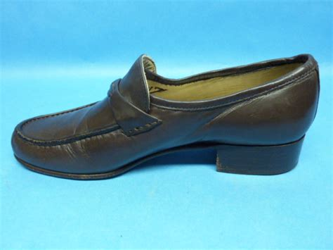 Loafers Import Quality Bally Brown Loafers Mens 6 5 M Quality Italian Leather