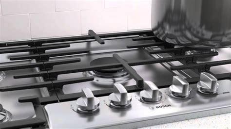 bosch 800 gas cooktop bosch 800 series gas cooktop video1 ngm8655uc at