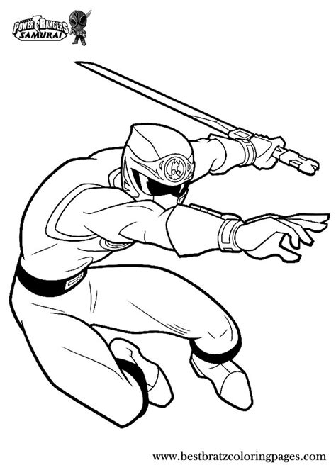 pokemon ranger coloring pages printable power rangers samurai coloring pages for kids