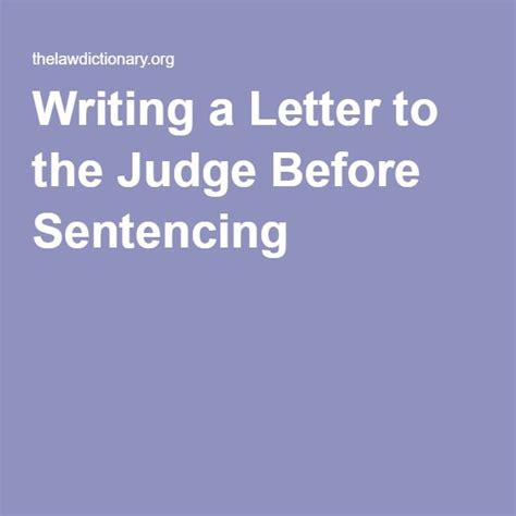 Sle Letter To Judge For Leniency In Sentencing Character Letter To A Judge Before Sentencing How To