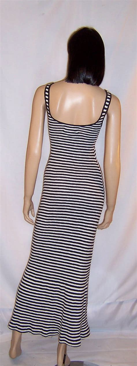 Rimple Dress White Balotelly Vg clifton black white striped summertime maxi dress from patriciajonsfinest on ruby