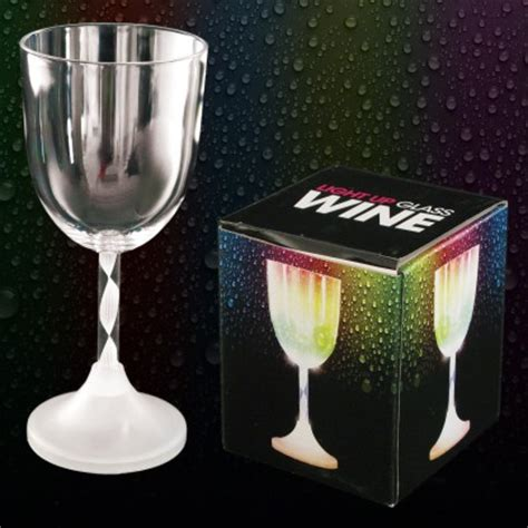 light up barware light up wine glass