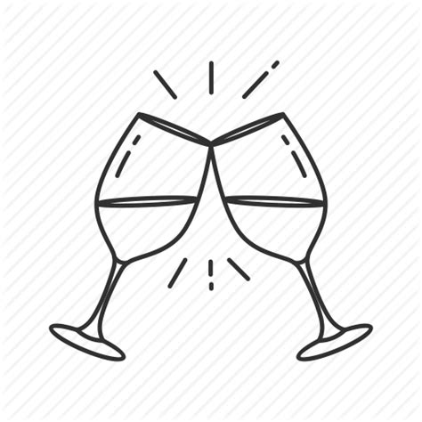 cartoon wine glass cheers black and white glasses cheers pictures to pin on