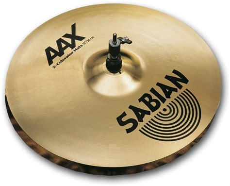 Cymbal Sabian Aax X Celerator Hats 13 14 quot aax x celerator hats 21402xl sabian cymbals