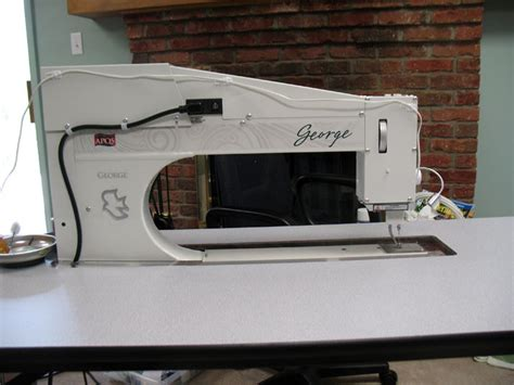 George Quilting Machine by Patsy Thompson Designs Ltd 187 George Sitdown Quilting Machine