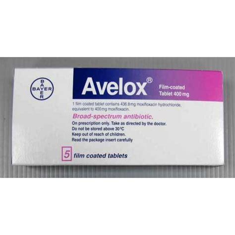 buy avelox 400 mg moxifloxacin