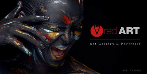 gallery themes in art red art photography art gallery art school theme by